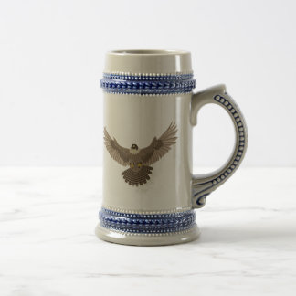 Falcon Beer Stein