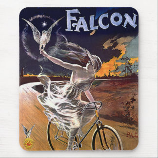 Falcon Bicycle Mouse Pad