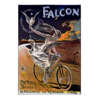 Falcon Bicycle poster