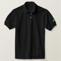 Falcon Bird (color) Embroidered Polo Shirt
