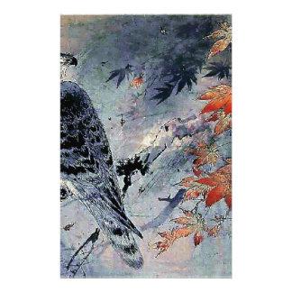 Falcon Bird Japanese print Stationery