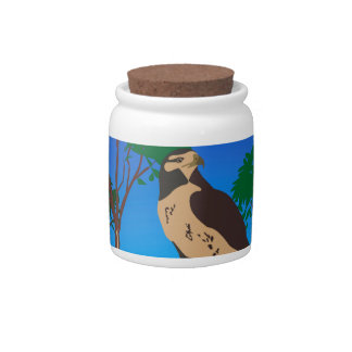 Falcon Candy Jars