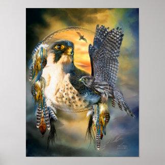Falcon Dreams Fine Art Poster/Print