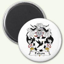 Falcon Family Crest Magnet