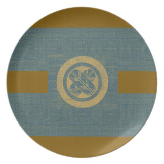 Falcon Feather Crest Plate