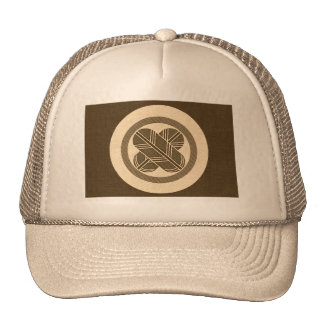 Falcon Feathers Crest - brown Trucker Hat