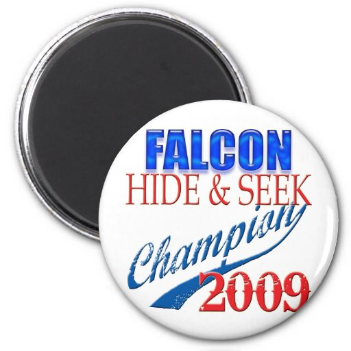 Falcon Heeme, Hide and Seek Champion Refrigerator Magnets