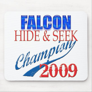 Falcon Heeme, Hide and Seek Champion Mouse Pad