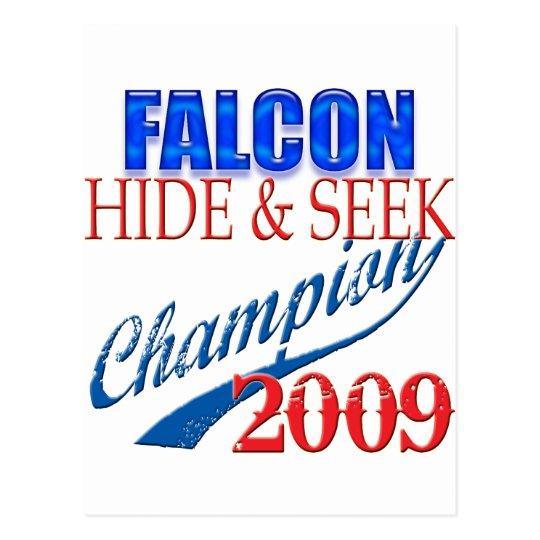 Falcon Heeme, Hide and Seek Champion Postcard