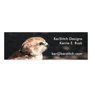 Falcon I: Skinny Business Card or Mini Bookmark