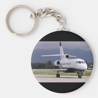 Falcon Jet Keychain