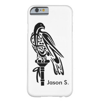 Falcon on Block Perch Barely There iPhone 6 Case