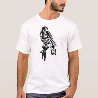Falcon on Block Perch T-Shirt