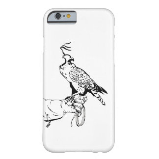 Falcon on Glove Barely There iPhone 6 Case