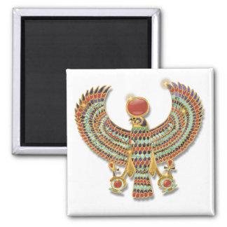 Falcon pectoral refrigerator magnet