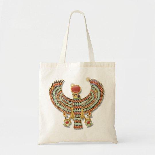 Falcon pectoral tote bag