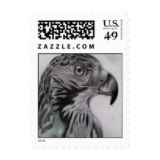 Falcon Portrait Stamps