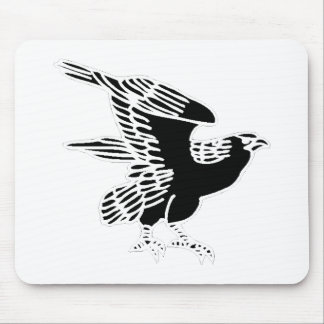 Falcon Silhouette Mouse Pads