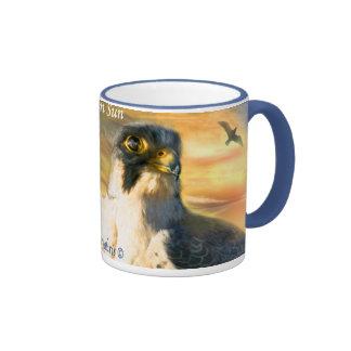 Falcon Sun Art Mug