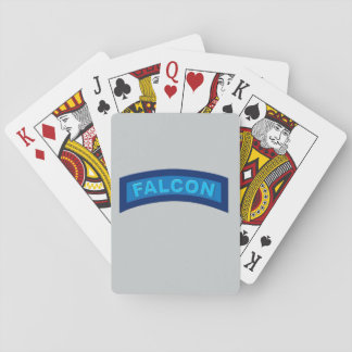 Falcon Tab Playing Cards