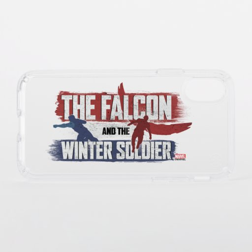 Falcon & Winter Soldier Red and Blue Graphic Speck iPhone X Case