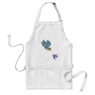 Falcon with goggles adult apron