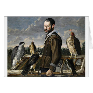 Falconer - 17th century card