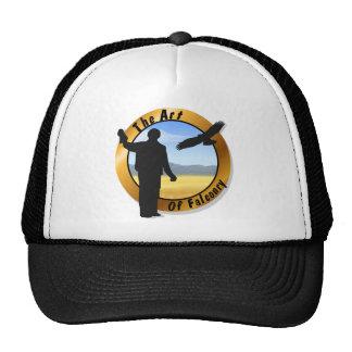 Falconer Medallion Round Cap Trucker Hat