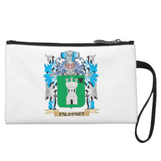 Falconet Coat of Arms - Family Crest Wristlet Clutch
