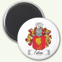 Falconi Family Crest Magnet