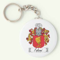 Falconi Family Crest Keychain