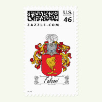 Falconi Family Crest Stamps