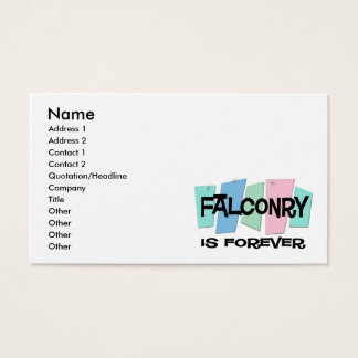 Falconry Is Forever Business Card