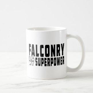 Falconry is my superpower coffee mug