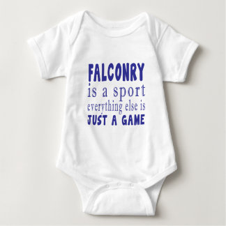 FALCONRY JUST A GAME BABY BODYSUIT