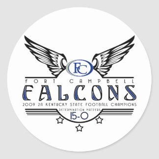 Falcons 09 State Champions Sticker