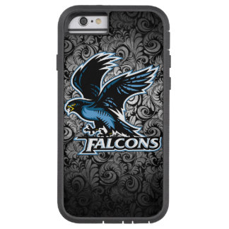 FALCONS BLACK PAISLEY TOUGH XTREME iPhone 6 CASE
