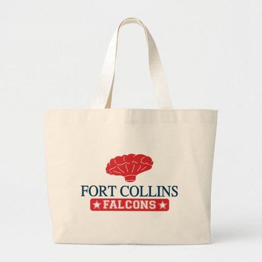 Falcons de Fort Collins - caseros de muchacho del  Bolsa Tela Grande