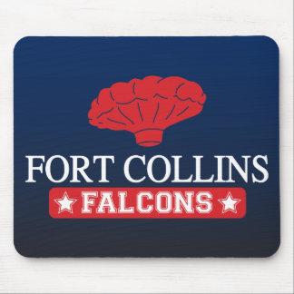 Falcons de Fort Collins - caseros de muchacho del  Mouse Pads