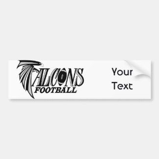 Falcons del este de la escuela secundaria de Linco Pegatina Para Auto