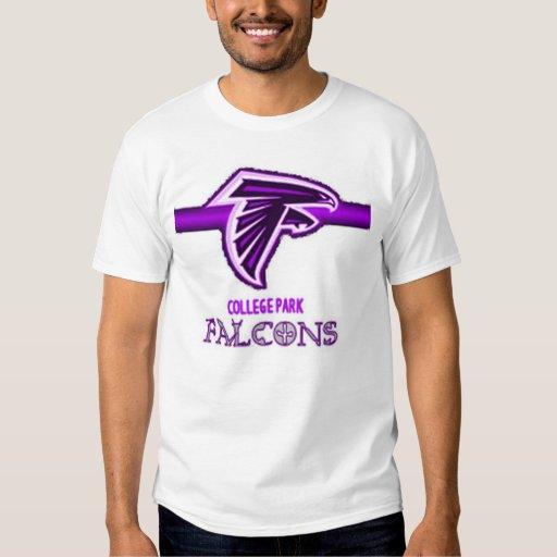 Falcons del parque de la universidad polera