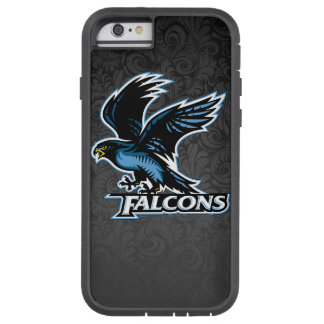 FALCONS FADED BLACK PAISLEY TOUGH XTREME iPhone 6 CASE