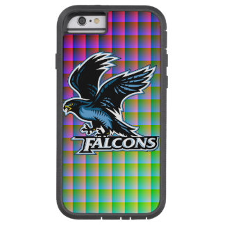FALCONS FADED SQUARES TOUGH XTREME iPhone 6 CASE