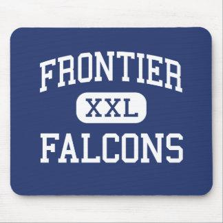 Falcons Hamburgo media Nueva York de la frontera Alfombrilla De Ratón