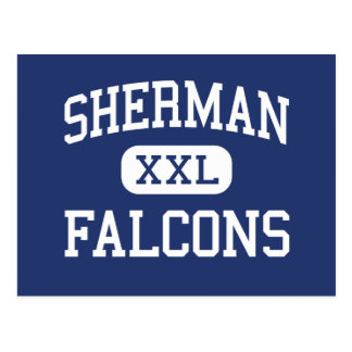 Falcons Madison media Wisconsin de Sherman Tarjeta Postal