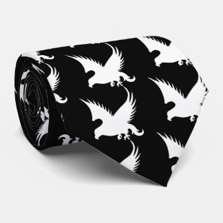 Falcons Pictograph Neck Tie