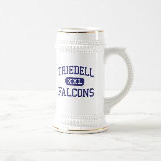 Falcons Rochester media Minnesota de Triedell Jarra De Cerveza