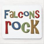 Falcons Rock Mouse Mats