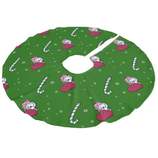 Falda del árbol de Westies del Snuggle del navidad
