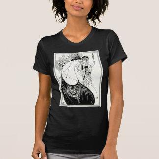 Falda del pavo real de Aubrey Beardsley Camisetas